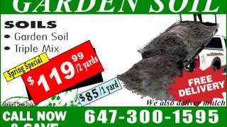 Garden Soil (brampton, Missisauga, Etobicoke, Bolton, Woodbridge)