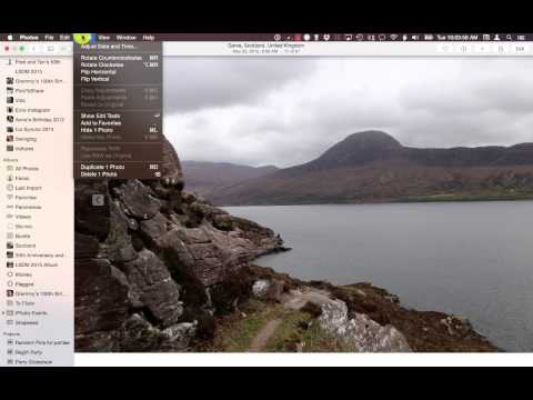 How to View and Edit RAW Images Files in Photos app for Mac