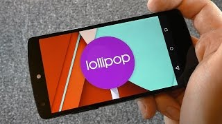 Обзор Android 5.0 Lollipop на LG Nexus 5 и пасхалка (review and easter egg Flappy Bird)