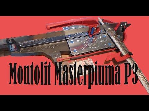 Montolit Masterpiuma P3 Tile Cutter