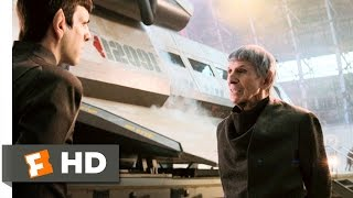 star trek 89 movie clip spock meets spock 2009 hd
