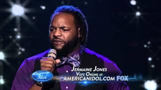 Jermaine Jones - Dance With My Father - American Idol 11 - Top 13 Boys