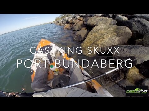 Testing Castking Skuxx Soft Plastics Fishing Port Bundaberg On Dragon Kayaks