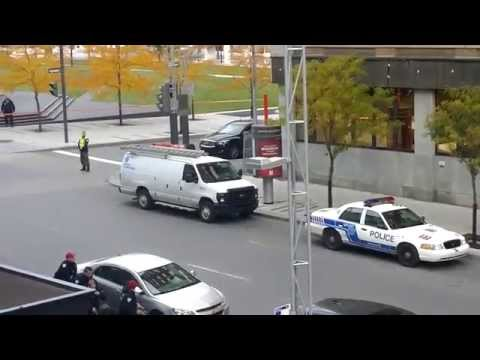 Police simulate anti-terror operation in Downtown Montreal