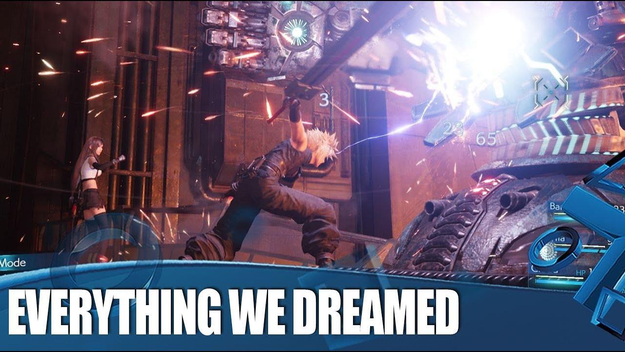Wir haben Final Fantasy VII Remake gespielt und es ist alles, was wir geträumt haben + video