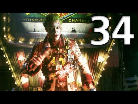 Batman: Arkham Knight Official Walkthrough 34 - Johnny Charisma