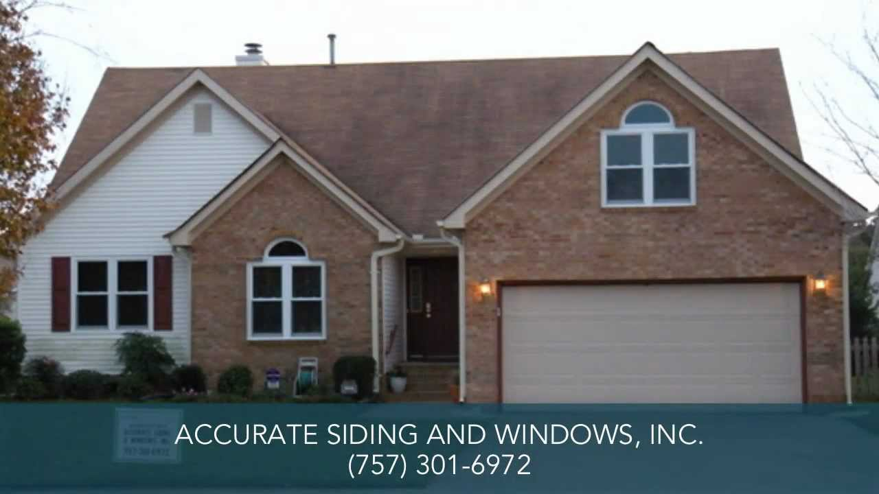 Windows Amp Vinyl Siding Virginia Beach Va Accurate Siding