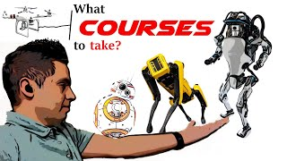 Top 5 Courses to take to become a Robotics engineer