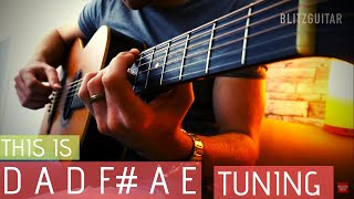 dadf#ae! the perfect tuning for beautiful chords.