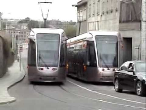 Dublin's Luas: Red line at Steeven's lane