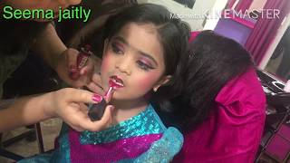 Baby stage makeup/Two Cut baby doll stage makeup Seema jaitly