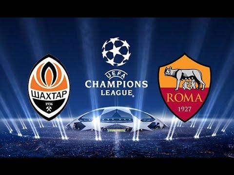 Match Sim / FC Shakhtar vs Roma / UEFA Champions League 2017-2018 Octavos de Final /