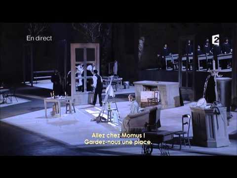 Boheme Act 1 & 2, Choregies d' Orange 2012