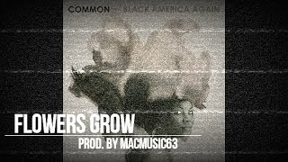 "FREE COMMON BLACK AMERICA AGAIN TYPE BEAT - ""Flowers Grow"" (Prod. By MacMusic63)"