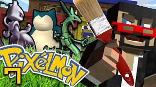 Minecraft: Pokemon Ep. 7 - SSUNDEE PAINT PRANK