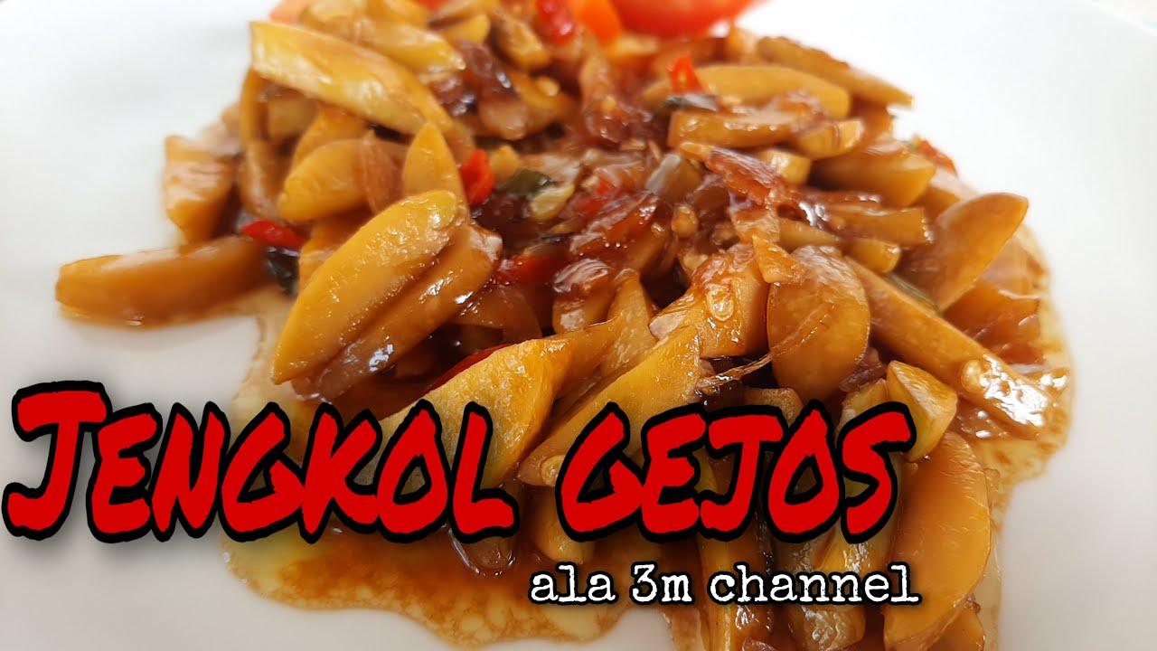 Cara Membuat Jengkol Gejos Ala 3m Chanel Di Jamin Nambah Kalo Makan Sama Ini Youtube