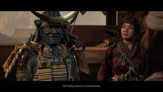 """Ghost of Tsushima - Hammers And Forge: Search For Taka and Survivors: """"Find Yukio"""" Cutscene (2020)"""