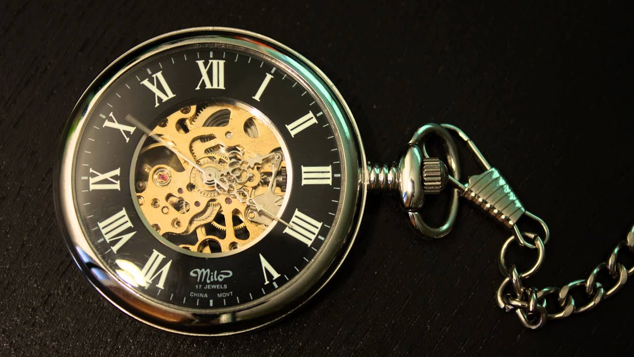 Pocket watch wallpaper  Mechanical pocket watch - Timelapse - YouTube