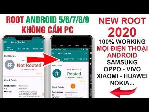 #46 Cách ROOT Mọi điện Thoại Android 5.0/6.0/7/8/9... 100% Thành Công Không Cần Máy Tính V4