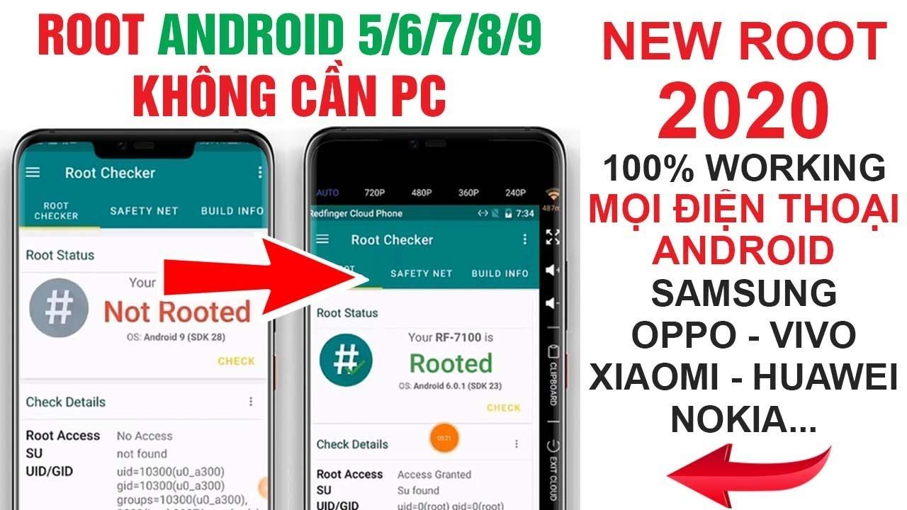 #46 Cách ROOT mọi điện thoại Android 5.0/6.0/7/8/9… 100% thành công không cần Máy tính V4
