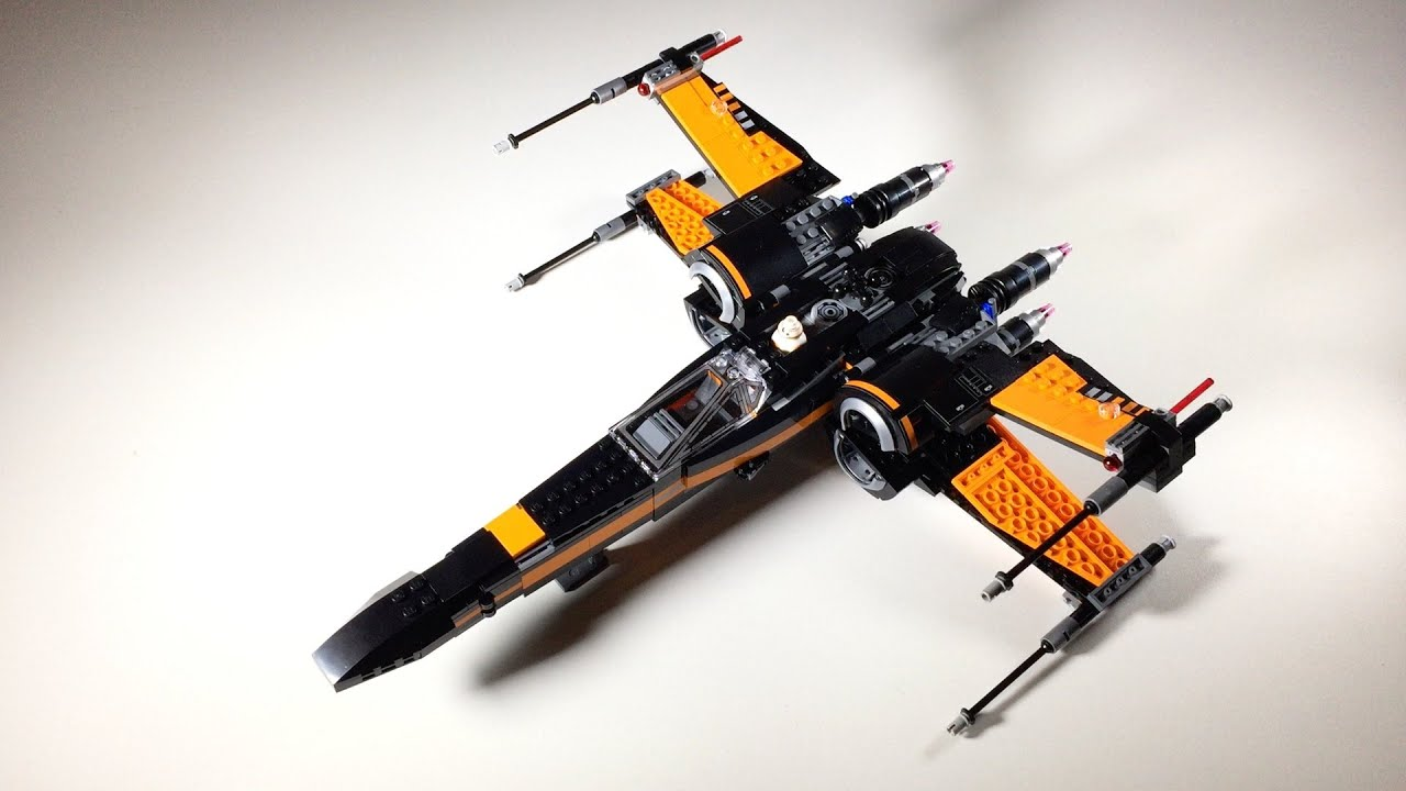 Lego star wars poe s x wing fighter review 75102 youtube - Lego Star Wars Poe S X Wing Fighter Review 75102 Youtube 6