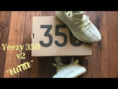 """Adidas Yeezy 350 v2 """"Butter"""" Review!!"""