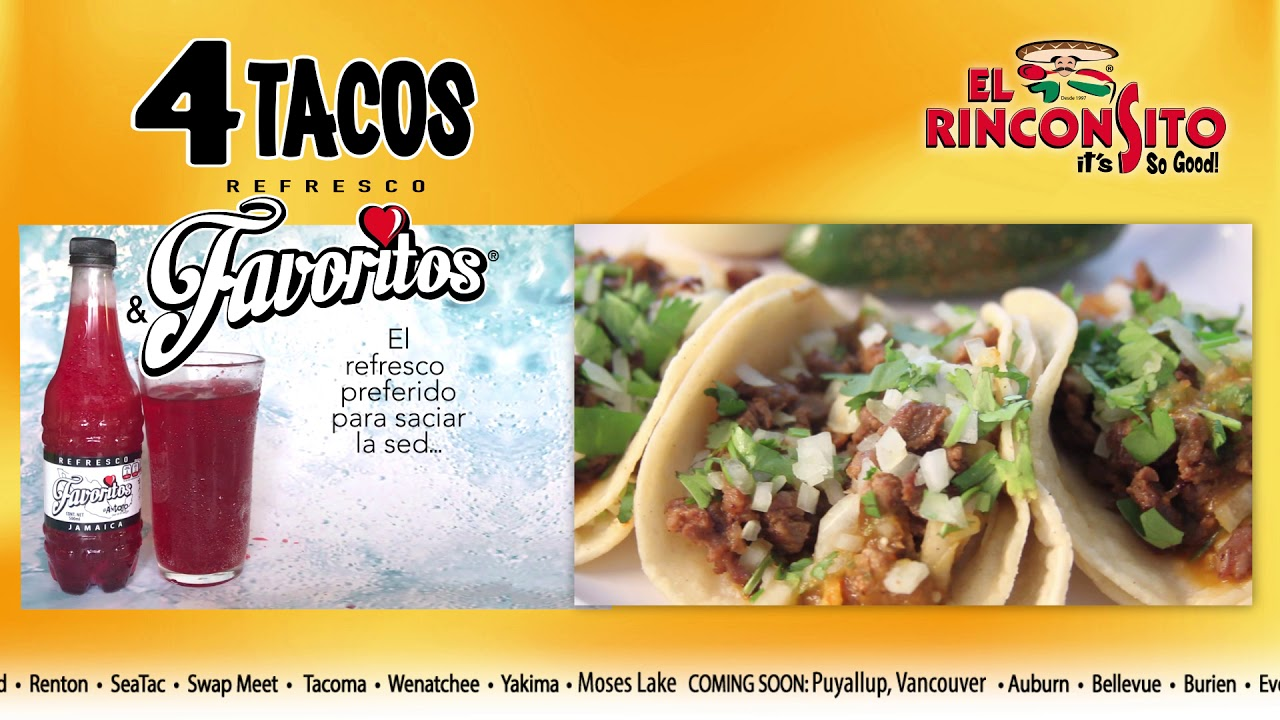 El Rinconsito | Proudly Serving the best Mexican food in