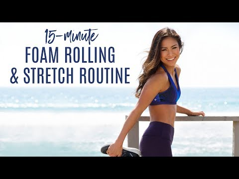 The Best Foam Rolling Routine To Stretch & Restore | Tone It Up