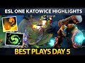ESL One Major Katowice Best Plays Day 5