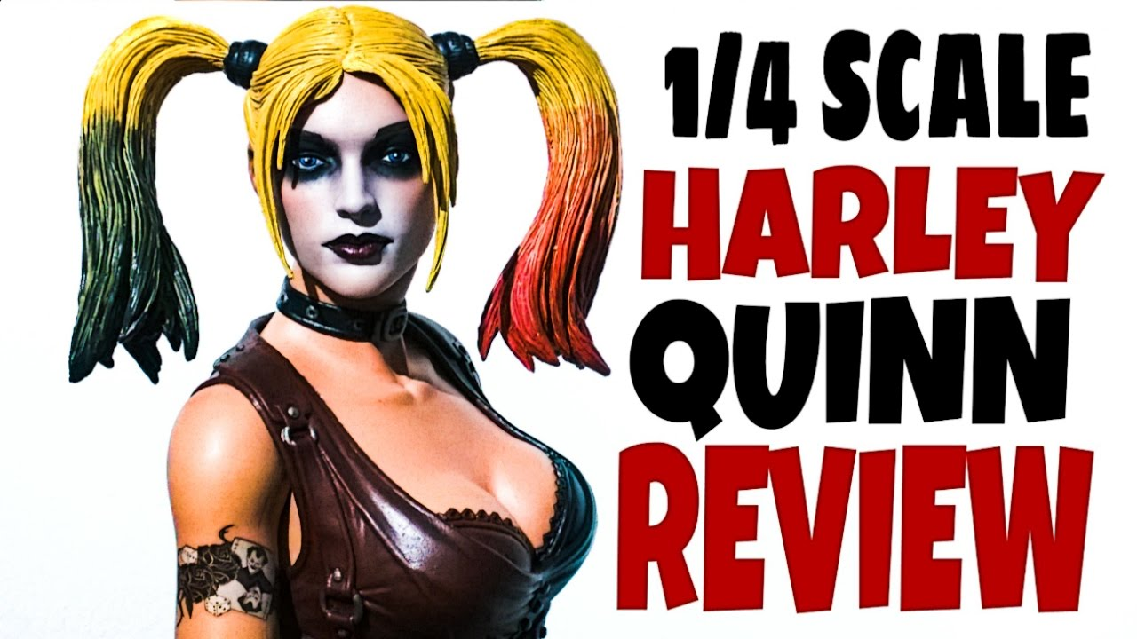 osw.zone went up London to Forbidden planet and bought the Neca 1/4 scale Harley Quinn f...