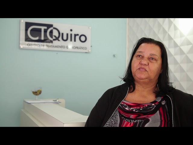 CTQuiro Depoimento Maria Monteiro - Dores na coluna