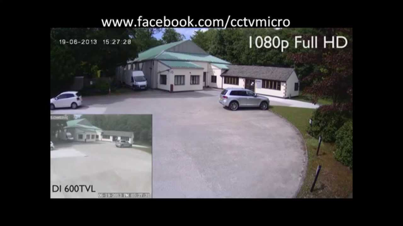 CCTVMICRO HDI1080p Resolution Security Camera Vs. H.264 ...