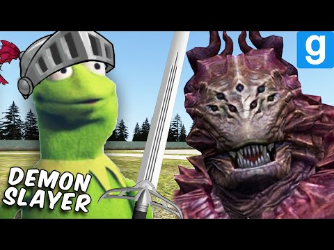 KERMIT KILLS YOUR DEMONS SO YOU DON'T HAVE TO (Garry's Mod Sandbox)