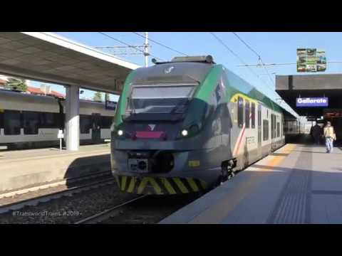 Trenord -Milano Centrale To Gallarate St- EMU Alstom Coradia ETR425