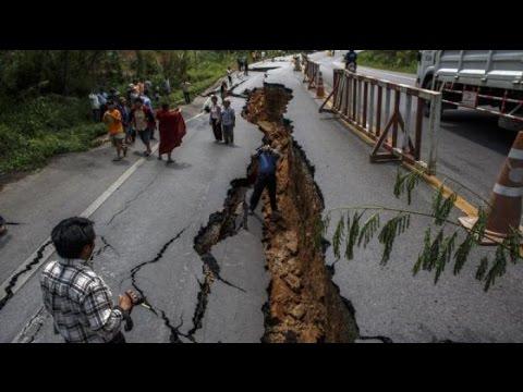 Video Detik-Detik Gempa Dahsyat 6,1 SR Di Garut Jawa Barat