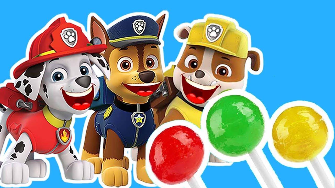 Paw Patrol : la Pat'Patrouille PAW Patrol Brasil Chase skye marshall Zuma sweet candy
