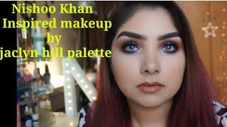 Nishoo khan inspired makeup | jaclyn hill palette | anastasia dream highlighter