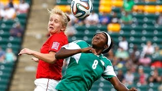 Nigeria v. England, Canada 2014 HIGHLIGHTS