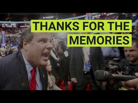 Chris Christie: Thanks for the Memories