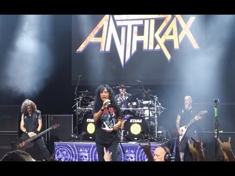 ANTHRAX performed live on the 2019 Megacruise video is now on line..!