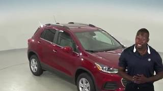 182640 - New, 2018, Chevrolet Trax, 1LT, AWD, Red, SUV, Test Drive, Review, For Sale -