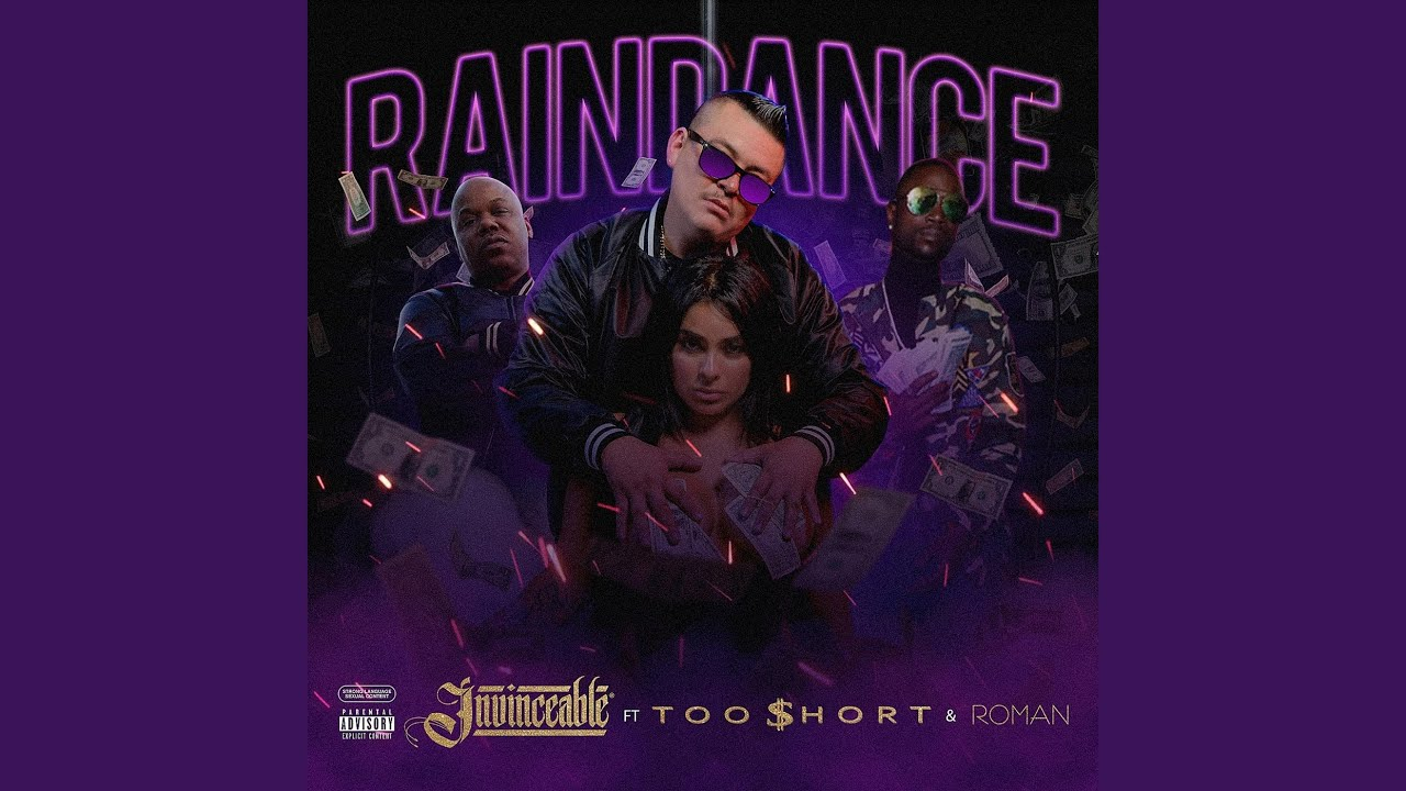 New Video Alert:  Invinceable – Rain Dance feat. Too $hort & Roman(explicit) 3/25/21