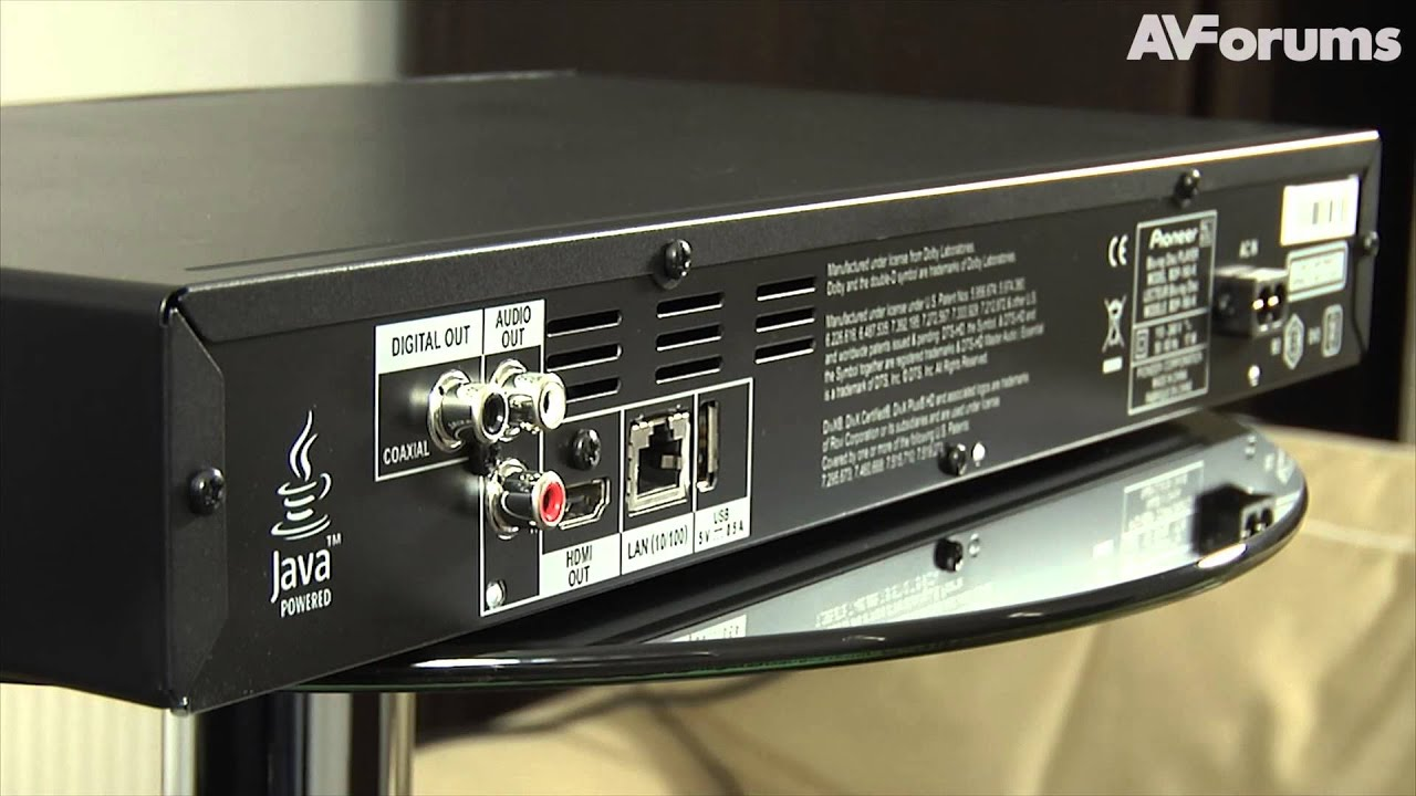 Pioneer BDP-160-S Blu-Ray Player Drivers Windows XP