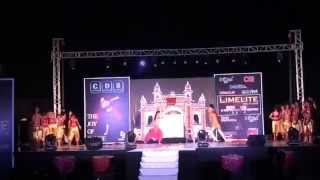 Azeem o Shaan Shahenshah by CDS Dance Stars during LIMELITE 2014 Hyderabad
