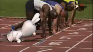 RRR TV Party - Olympic games 2008 - Rabbids can't run the 10 [UK]