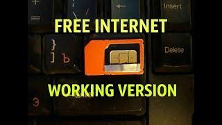 FREE INTERNET WORKING VERSION.3G/4G/LTE