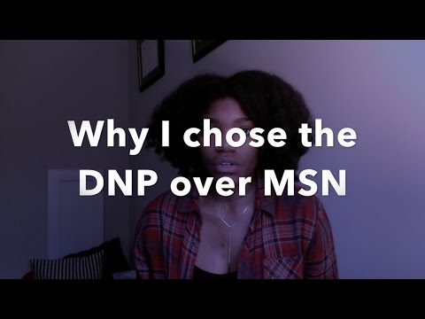 Crna School: Choosing Dnp Or Msn - YT