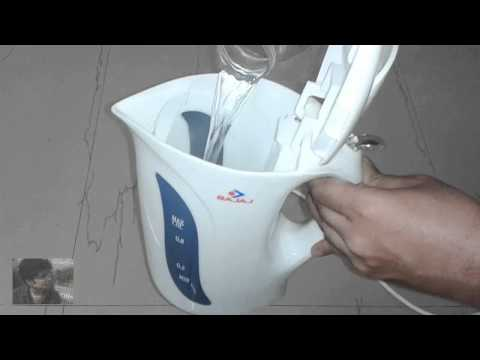 Bajaj cordless Kettle 1-Litre 1200-Watt REVIEW / Hands on | Indian Consumer
