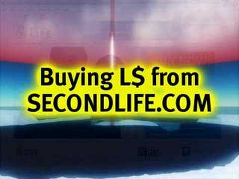 BASICS: Buying Linden Dollars - Second Life Video TuTORial