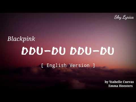 Blackpink - Ddu-du-ddu-du ( English Cover by Ysabelle & Emma ) LYRICS